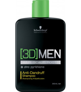 Schwarzkopf Professional [3D]MEN Anti-Dandruff šampūns (250ml)