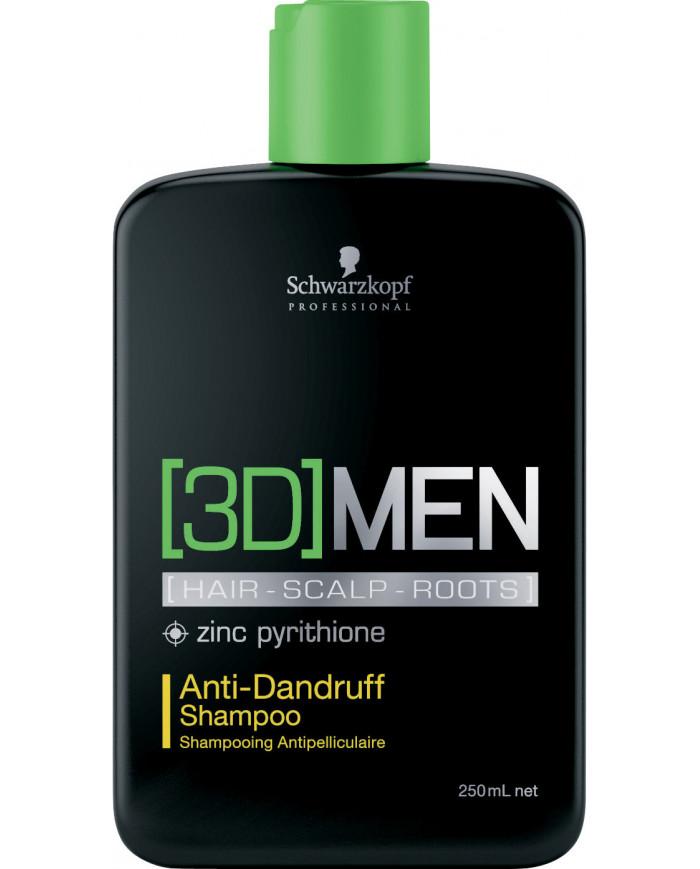 Schwarzkopf Professional [3D]MEN Anti-Dandruff šampūns (250ml)