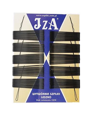 JZA gludas matu sprādzes ar noapaļotiem galiem (100gab.)