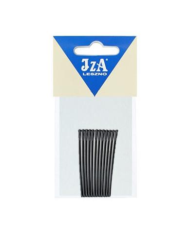 JZA gludas matu sprādzes ar noapaļotiem galiem (12gab.)