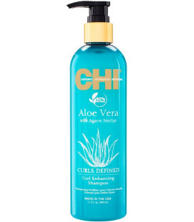 CHI Aloe Vera Curls Defined shampoo (340ml)