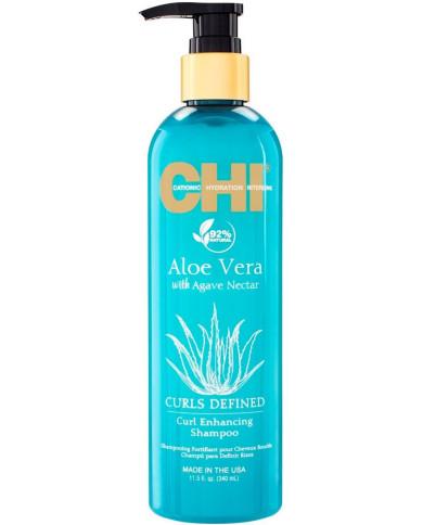 CHI Aloe Vera Curls Defined шампунь (340мл)