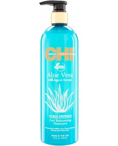 CHI Aloe Vera Curls Defined šampūns (340ml)