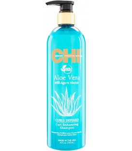 CHI Aloe Vera Curls Defined шампунь (340мл)