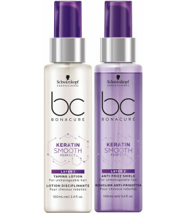 Schwarzkopf Professional Bonacure Keratin Smooth Perfect duo layering