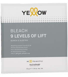 YELLOW 9 Levels Of Lift balinošais pulveris (50g)