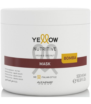 YELLOW Nutritive maska