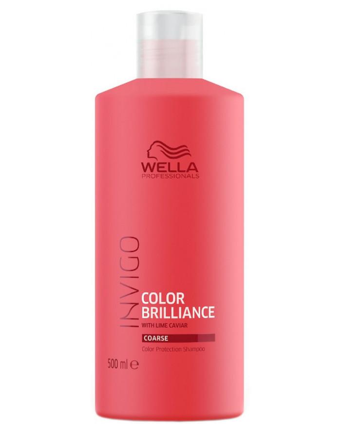 Wella Professionals Invigo Color Brilliance Coarse šampūns (500ml)