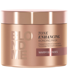 Schwarzkopf Professional BlondMe Tone Enhancing Warm mask