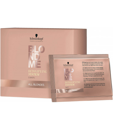 Schwarzkopf Professional BlondMe Detoxifying System concentrate