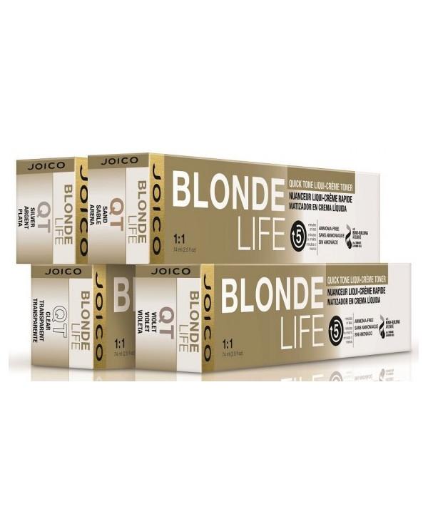 Joico Blonde Life Quick Tone cream color toner