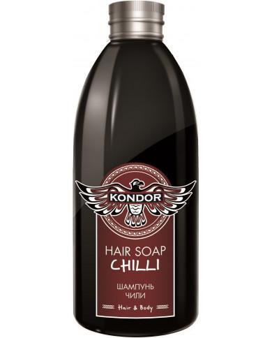 KONDOR CHILLI Šampūns matu augšanai 300ml