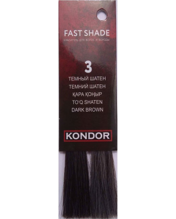 KONDOR Fast Shade krāsa matiem un bārdai