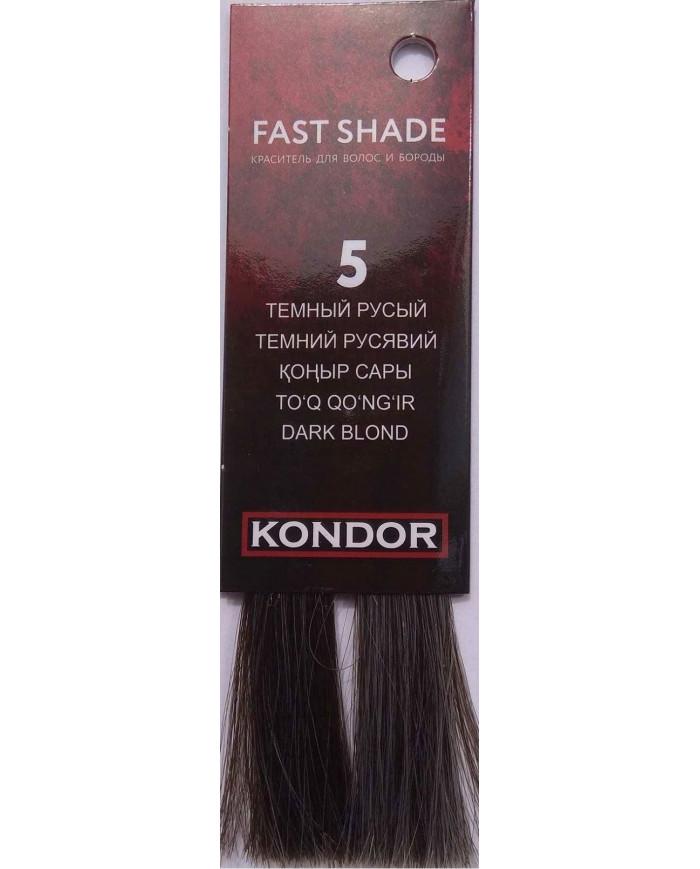 KONDOR Fast Shade color for hair and beard