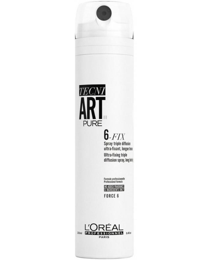 L'Oreal Professionnel Tecni.art 6-Fix Pure sprejs
