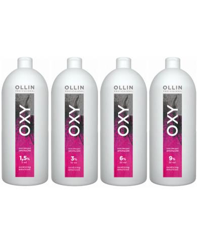 Ollin Professional Color Oxy oksidējoša emulsija (1000ml)