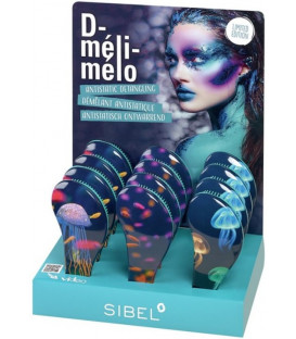 Sibel D-Meli-Melo Graphic detangling brush