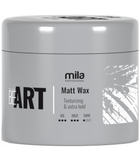 Mila Professional BeART Matt Wax vasks