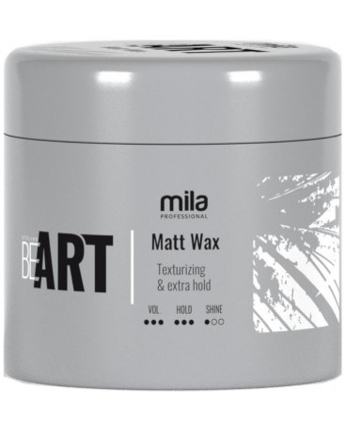 Mila Professional BeART Matt Wax vasks