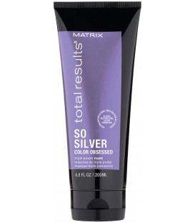 Matrix Total Results Color Obsessed So Silver mask