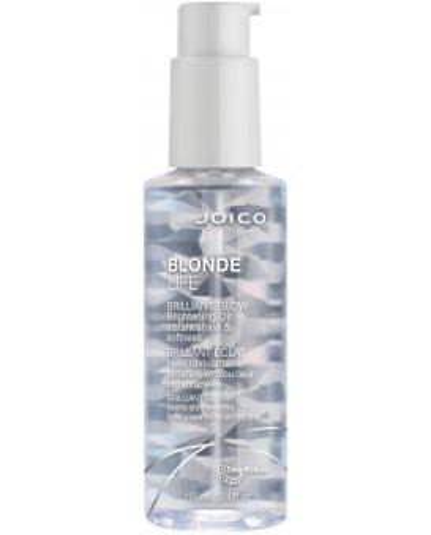 Joico Blonde Life Brilliant Glow eļļa spīdumam