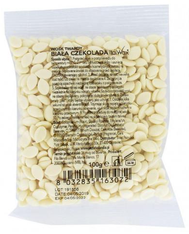 ItalWax plēves vasks, baltā šokolāde (100g)