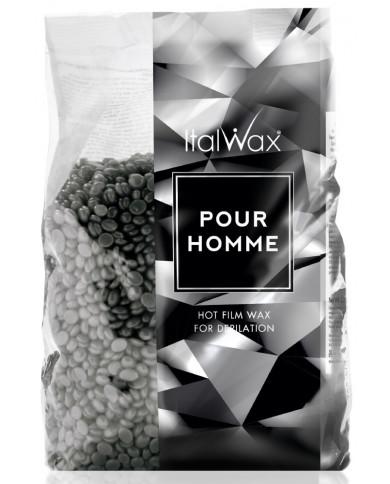 ItalWax Pour Homme plēves vasks vīriešiem (1000g)