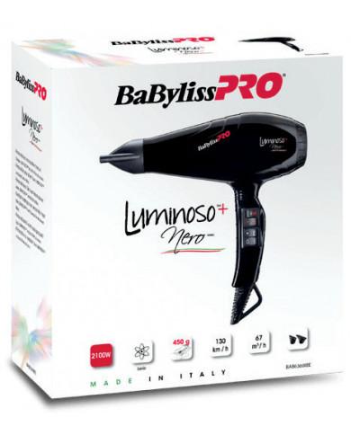 BaByliss PRO Luminoso+ Nero hair dryer