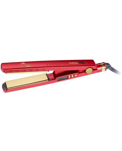 BaByliss PRO Titanium Red plaukų tiesintuvas