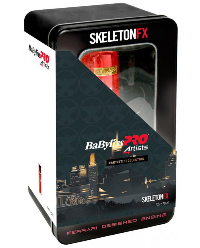 BaByliss PRO 4ARTIST SKELETONFX RED trimmeris