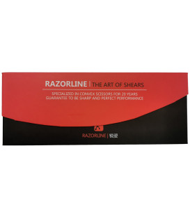 Razorline R8 scissors, 6.0""