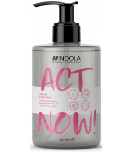 Indola Act Now! Color šampūns (300ml)