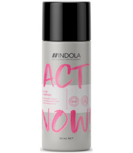 Indola Act Now! Color šampūns (50ml)
