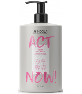 Indola Act Now! Color šampūns (1000ml)