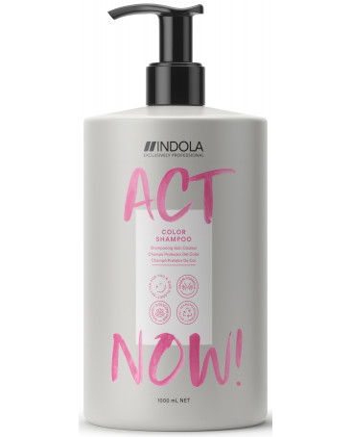 Indola Act Now! Color shampoo (1000ml)