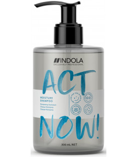 Indola Act Now! Moisture šampūns (300ml)