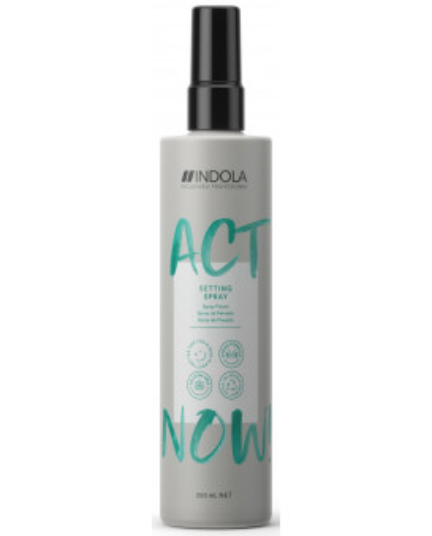 Indola Act Now! Setting spray (200ml)