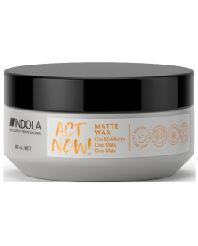 Indola Act Now! Texture matte wax (85ml)