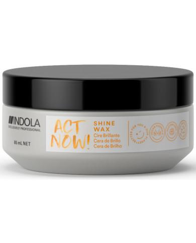 Indola Act Now! Texture shine wax (85ml)
