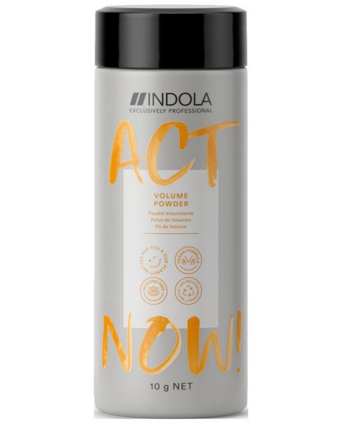 Indola Act Now! pūderis apjomam (10g)