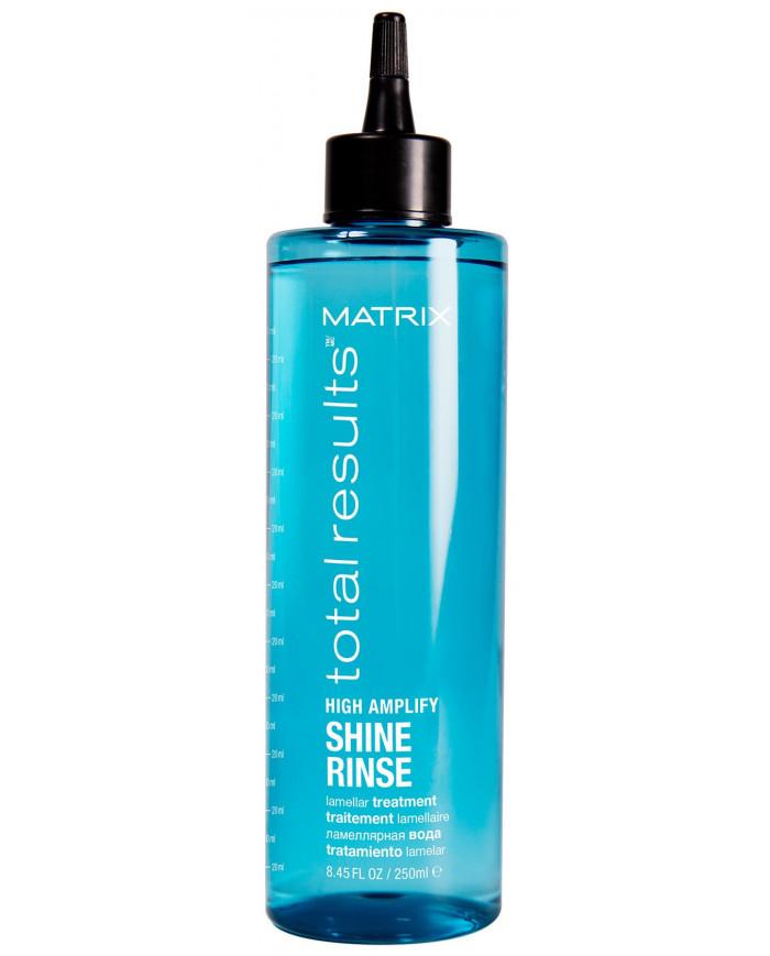 Matrix Total Results High Amplify Shine Rinse lamellar treatment