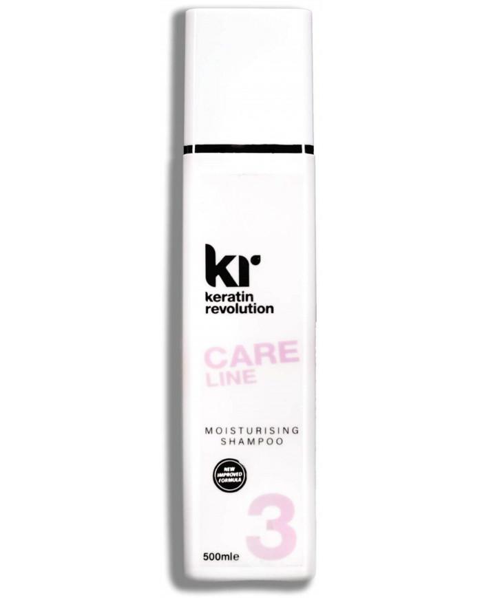 Keratin Revolution Care Line Moisturizing šampūns (500ml)