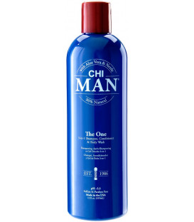 CHI Man The One 3-in1 shampoo, conditioner & body wash (355ml)