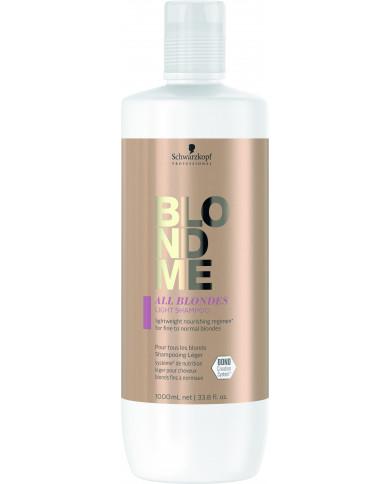 Schwarzkopf Professional BlondMe All Blondes lengvas šampūnas (1000ml)