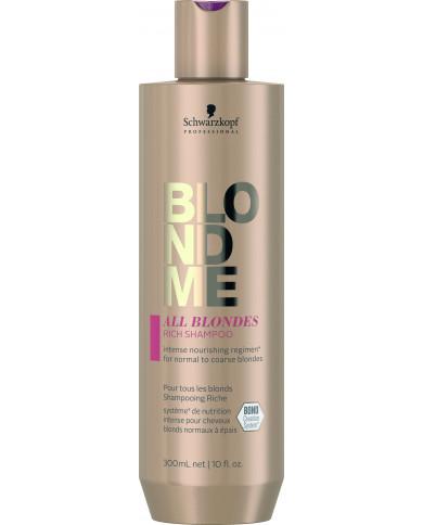 Schwarzkopf Professional BlondMe All Blondes Rich šampūns (300ml)