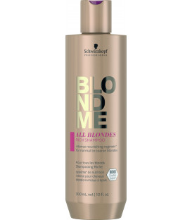 Schwarzkopf Professional BlondMe All Blondes Rich shampoo (300ml)