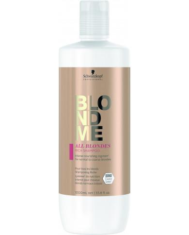 Schwarzkopf Professional BlondMe All Blondes Rich šampūnas (1000ml)