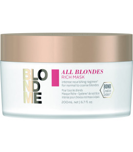 Schwarzkopf Professional BlondMe All Blondes Rich maska (200ml)