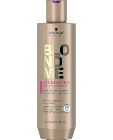 Schwarzkopf Professional BlondMe All Blondes Rich kondicionieris (250ml)