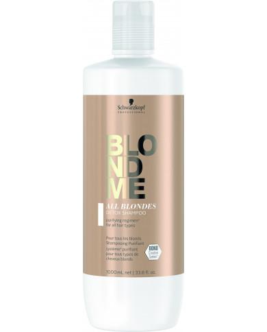 Schwarzkopf Professional BlondMe All Blondes Detox šampūns (1000ml)